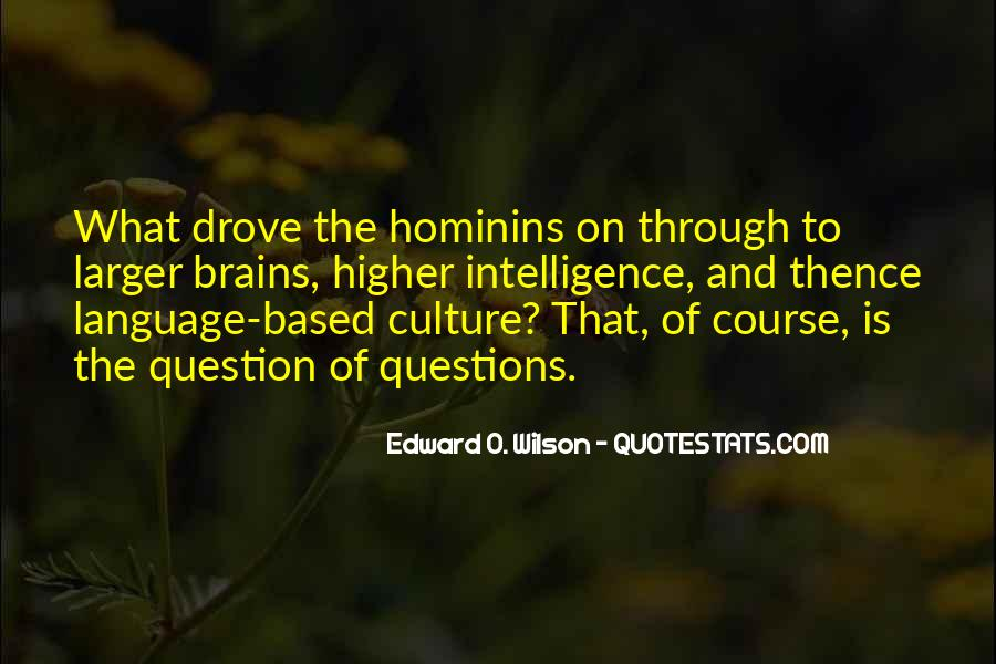 Hominins Quotes #794073