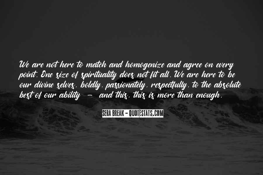Homogenize Quotes #1057958