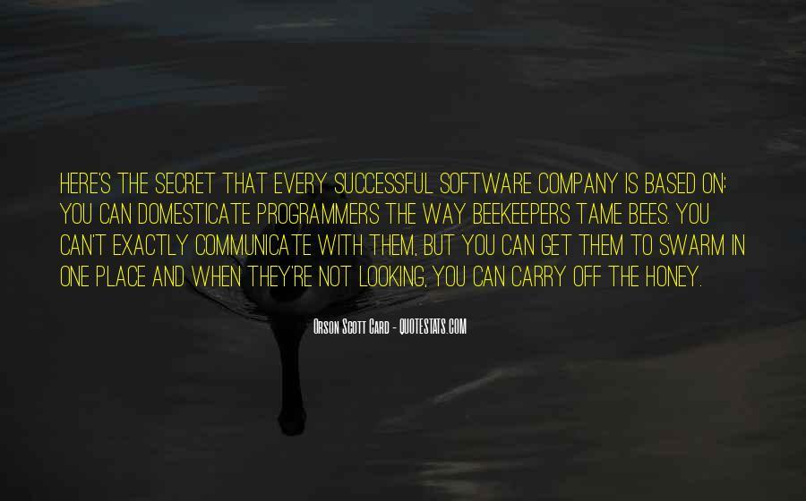 Honey's Quotes #365335