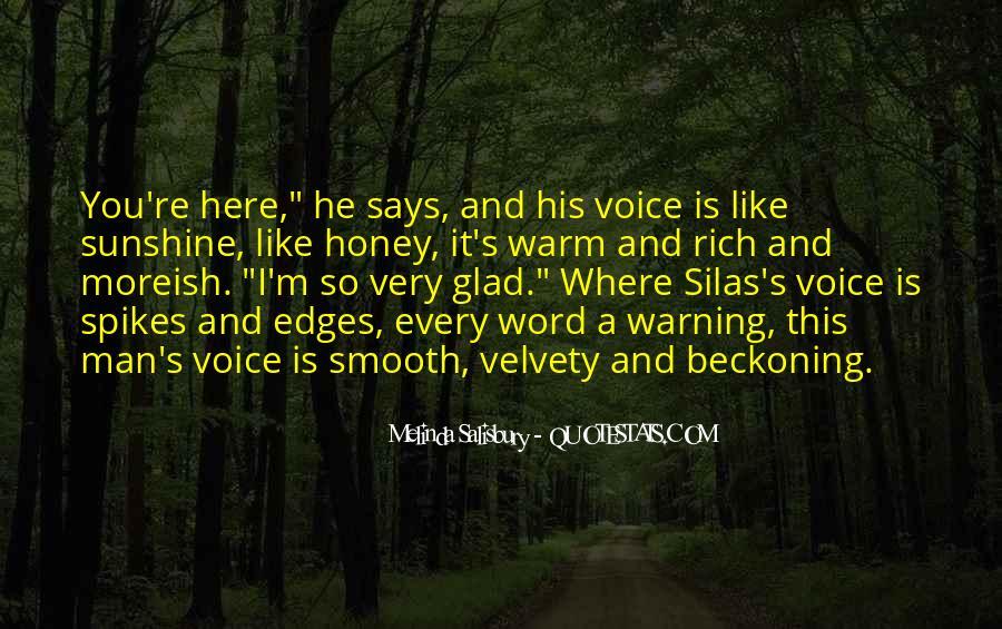 Honey's Quotes #73633