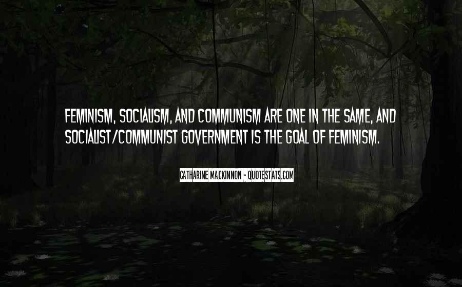 Quotes About Socialism And Communism #1018226