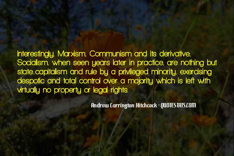 Quotes About Socialism And Communism #145813