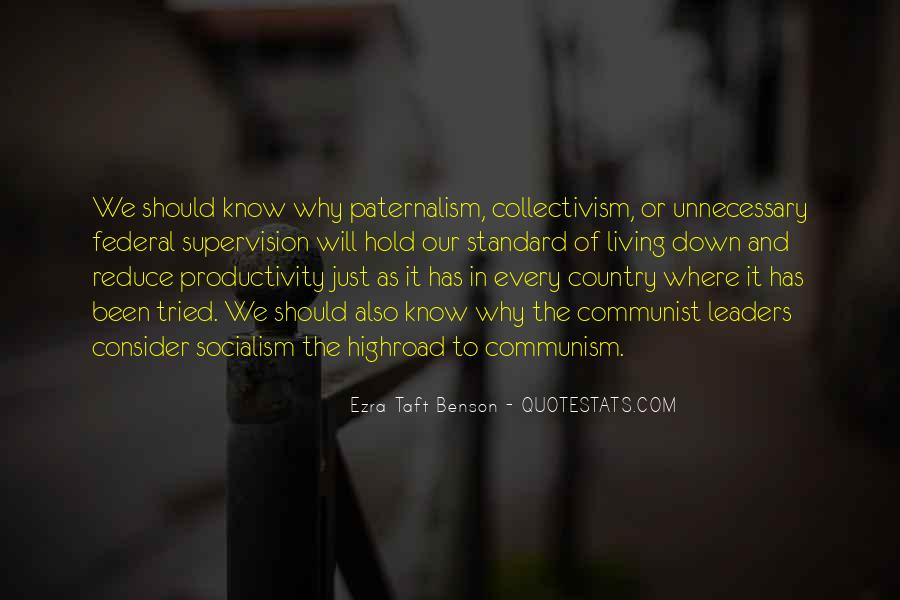 Quotes About Socialism And Communism #1556437