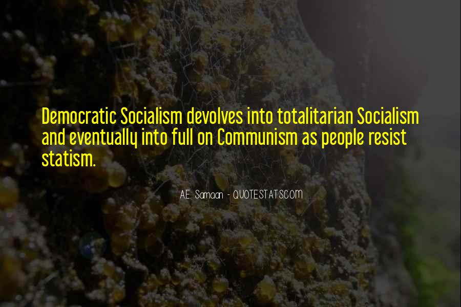 Quotes About Socialism And Communism #1811241