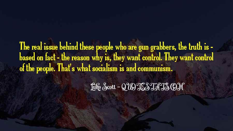 Quotes About Socialism And Communism #196351