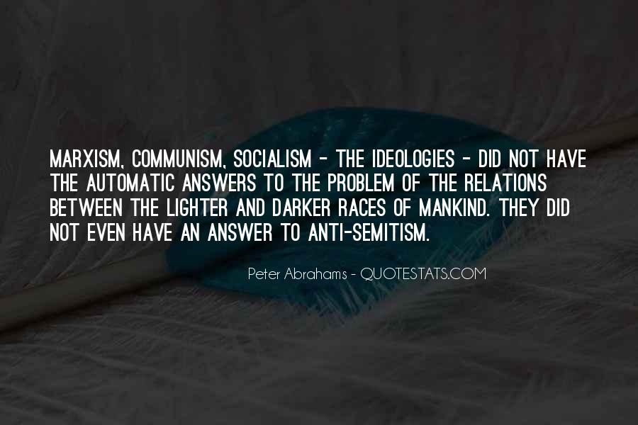 Quotes About Socialism And Communism #770804