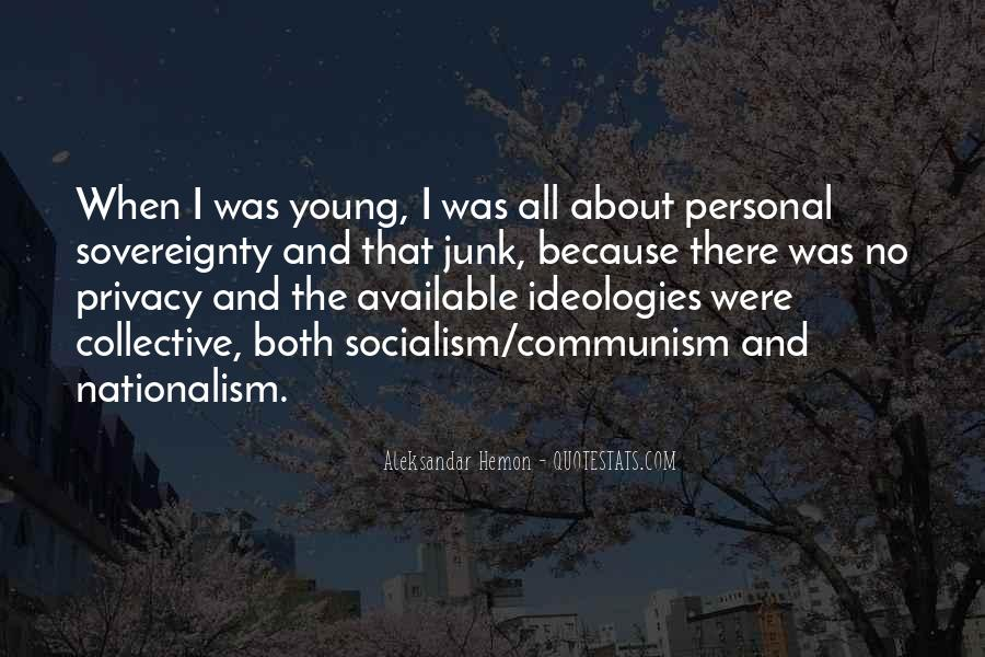 Quotes About Socialism And Communism #791318