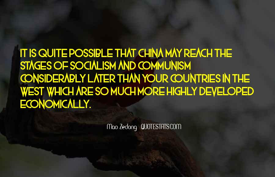 Quotes About Socialism And Communism #83871