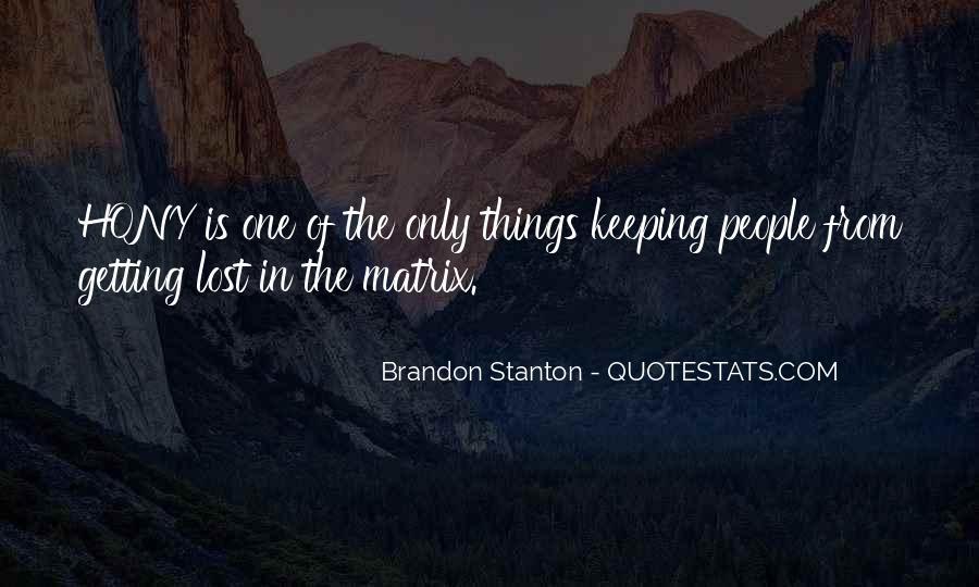 Hony Quotes #968346