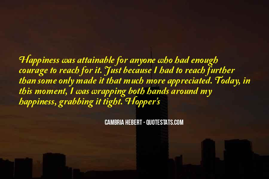 Hopper's Quotes #587465