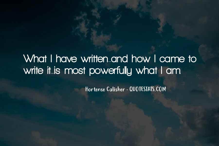 Hortense Quotes #276922