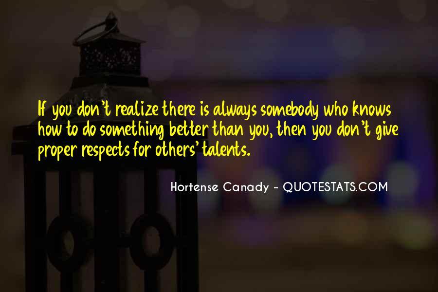 Hortense Quotes #64295