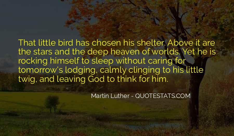 Quotes About Leaving Things Up To God #1872403
