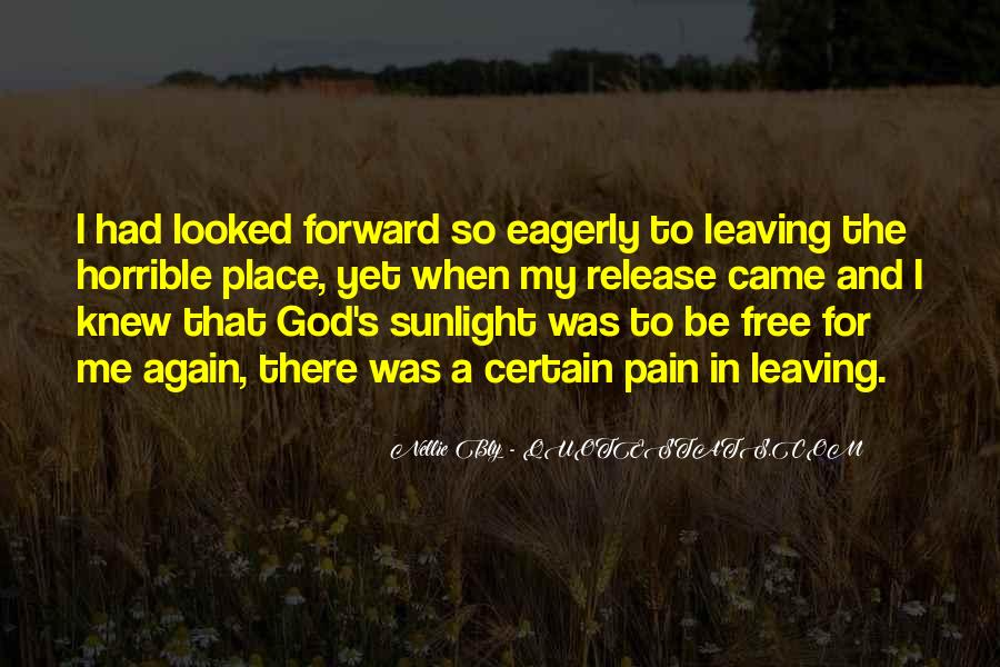 Quotes About Leaving Things Up To God #247583