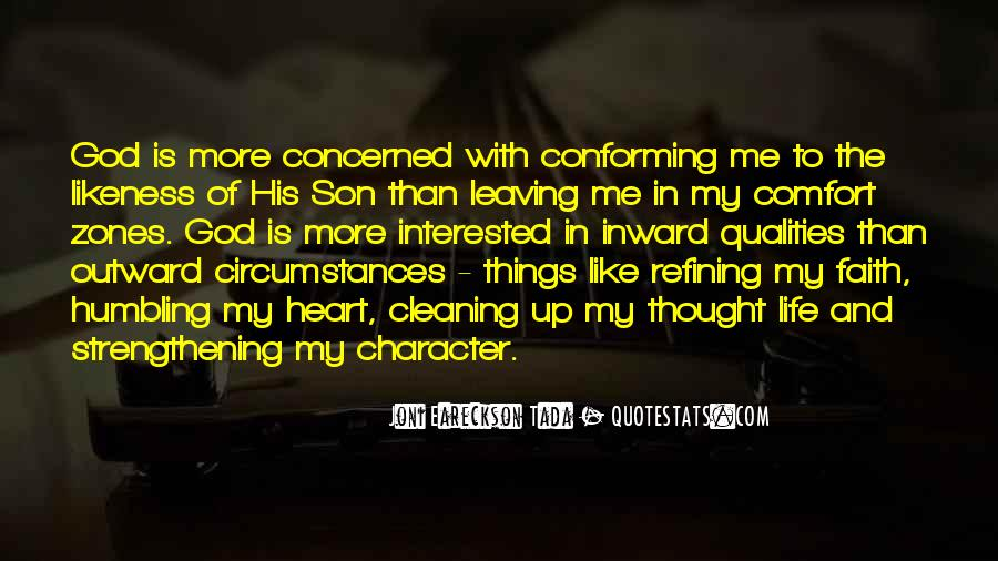 Quotes About Leaving Things Up To God #370821