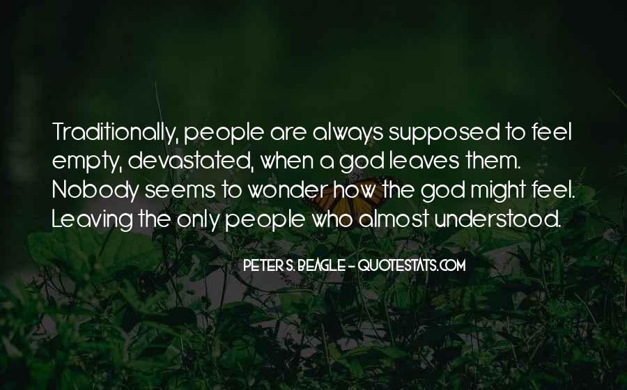 Quotes About Leaving Things Up To God #87514
