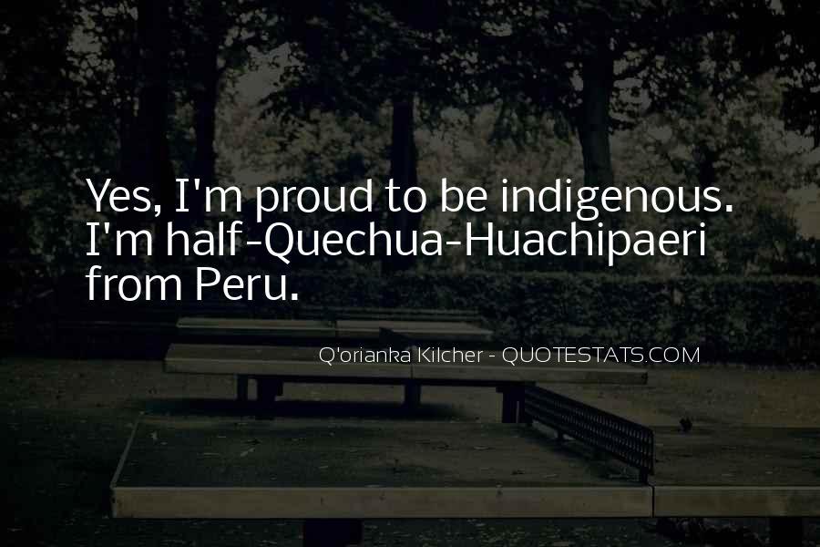 Huachipaeri Quotes #996495