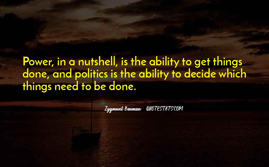 Quotes About Ability And Power #16512