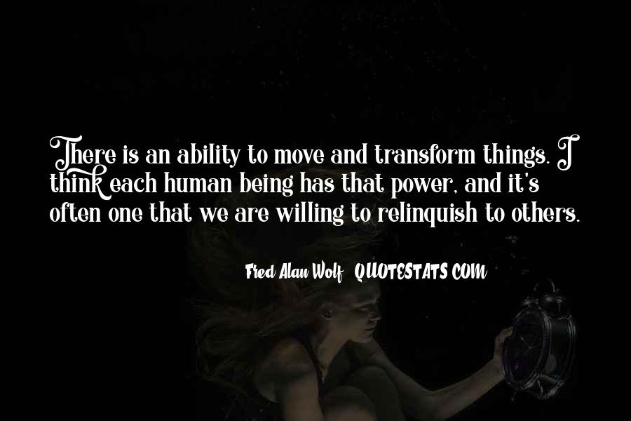 Quotes About Ability And Power #173949