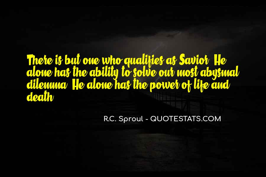Quotes About Ability And Power #186918