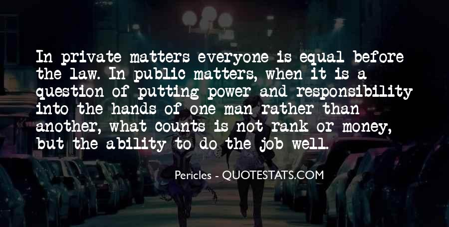 Quotes About Ability And Power #257283