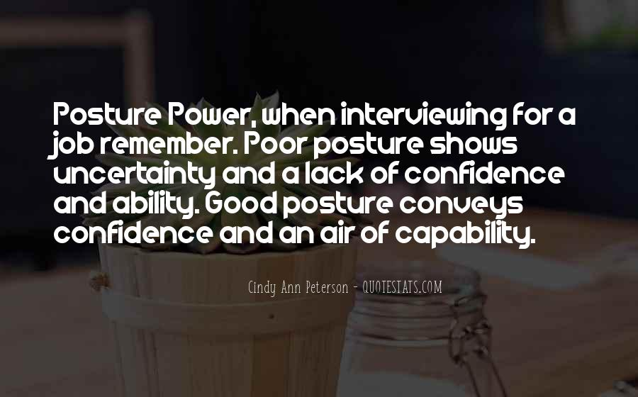 Quotes About Ability And Power #272243