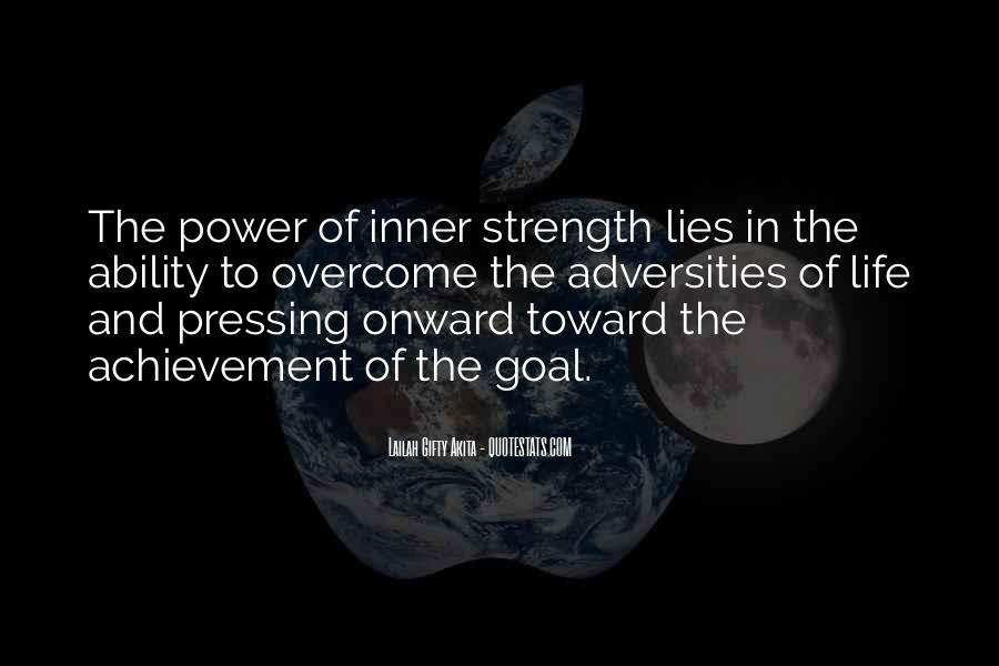 Quotes About Ability And Power #277681