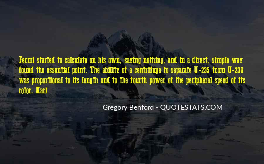 Quotes About Ability And Power #318168