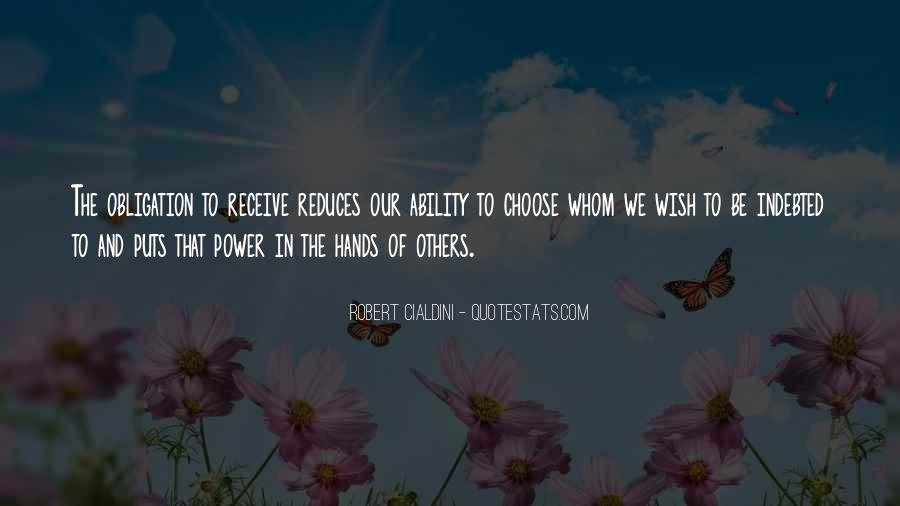 Quotes About Ability And Power #321831