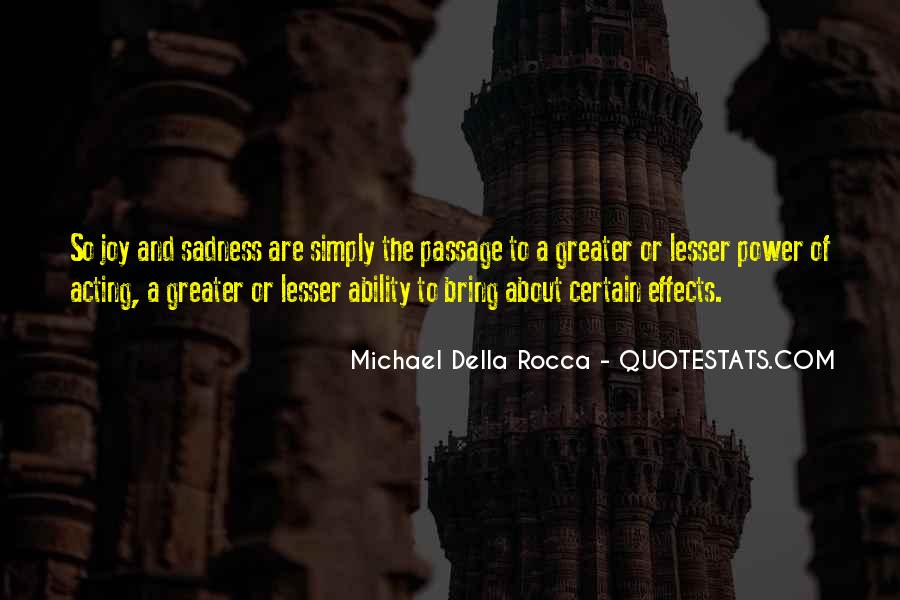Quotes About Ability And Power #338278