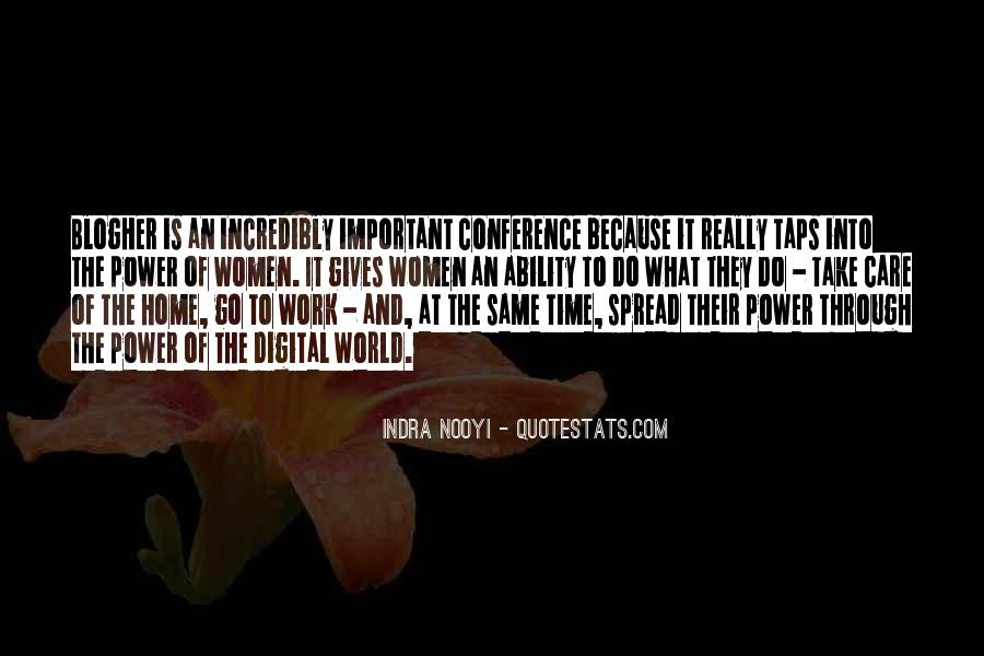 Quotes About Ability And Power #369493
