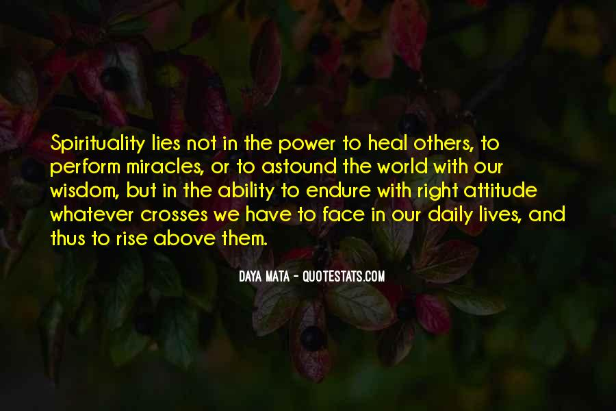Quotes About Ability And Power #505276