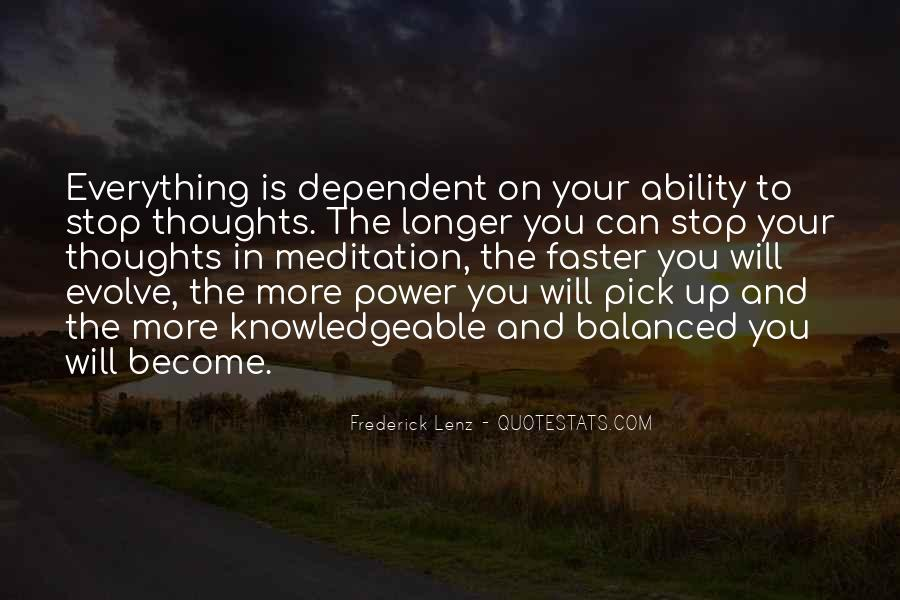 Quotes About Ability And Power #524575