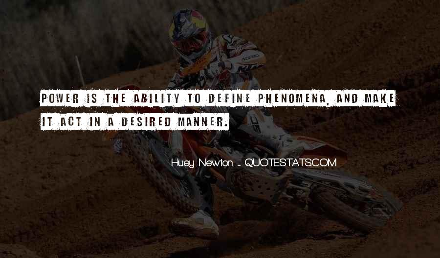 Quotes About Ability And Power #541691