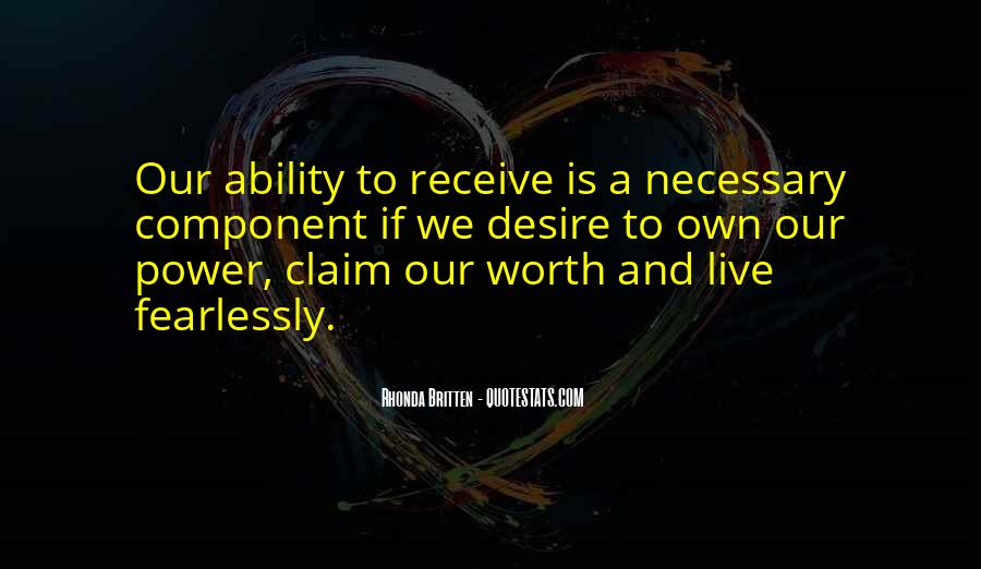 Quotes About Ability And Power #593912