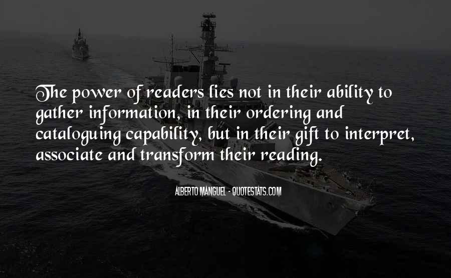 Quotes About Ability And Power #681781