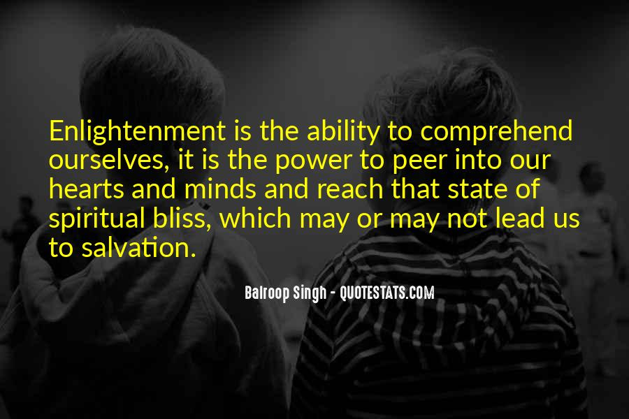 Quotes About Ability And Power #70082