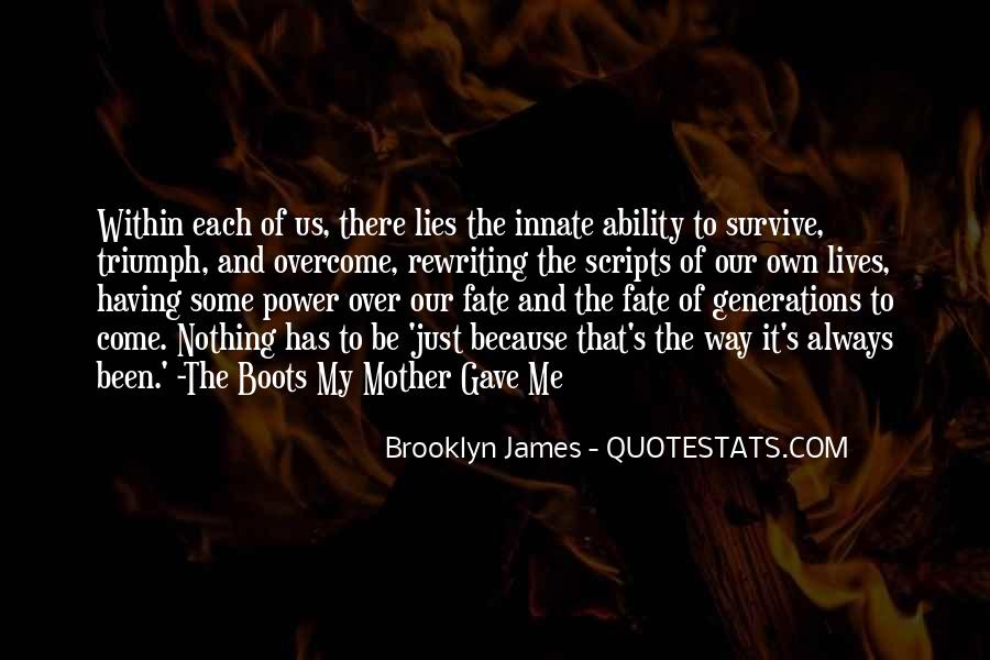 Quotes About Ability And Power #751827