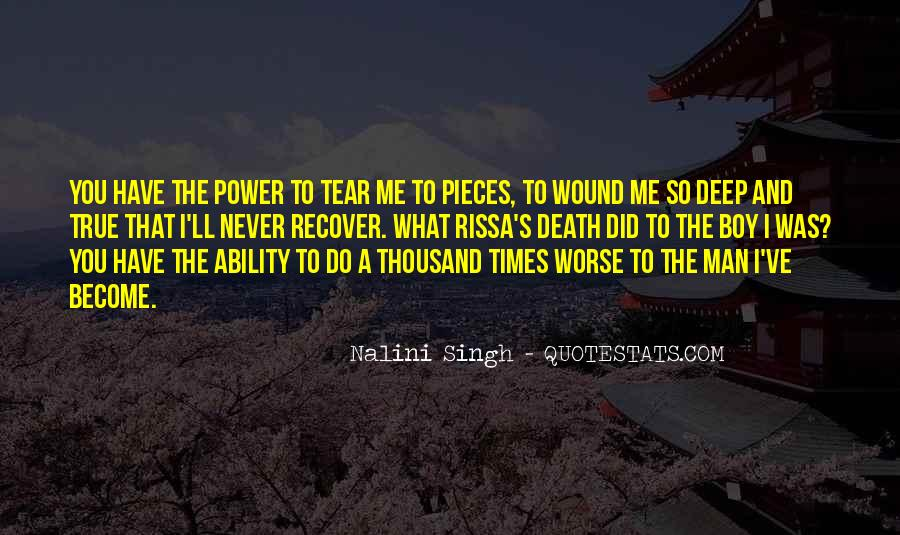 Quotes About Ability And Power #838726