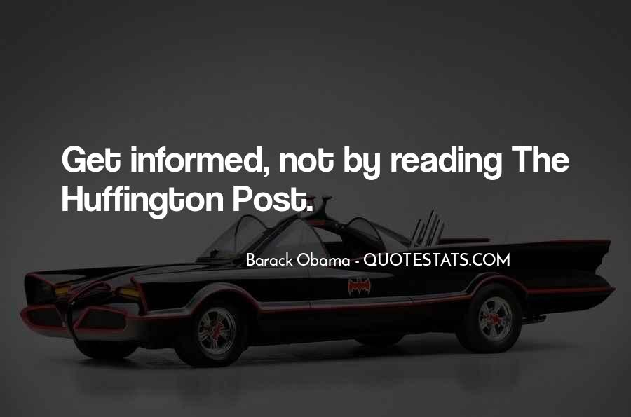 Huffington's Quotes #100525