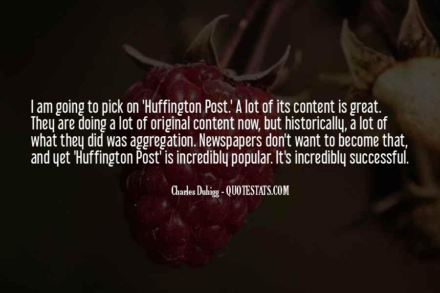 Huffington's Quotes #1011301