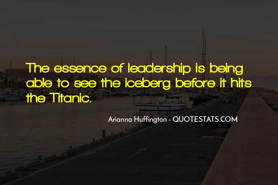 Huffington's Quotes #318844