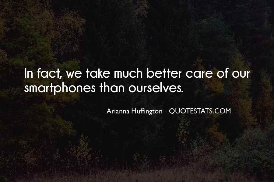 Huffington's Quotes #68515