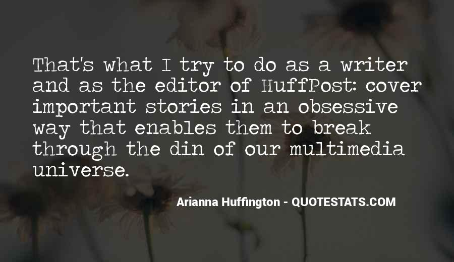 Huffington's Quotes #70033