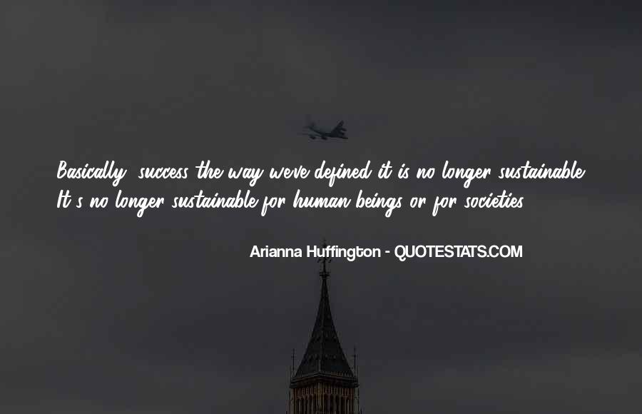 Huffington's Quotes #702497