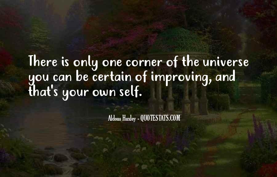 Quotes About One's Own Self #302861
