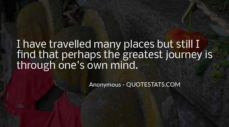 Quotes About One's Own Self #634337