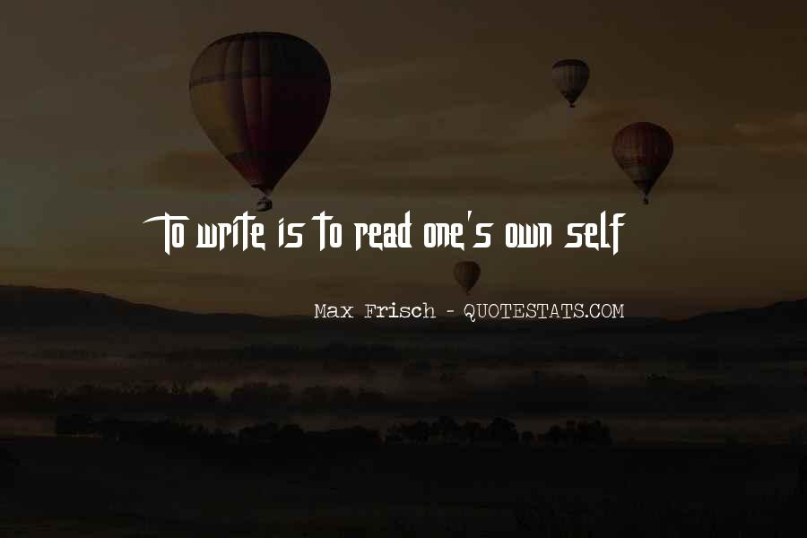 Quotes About One's Own Self #67059