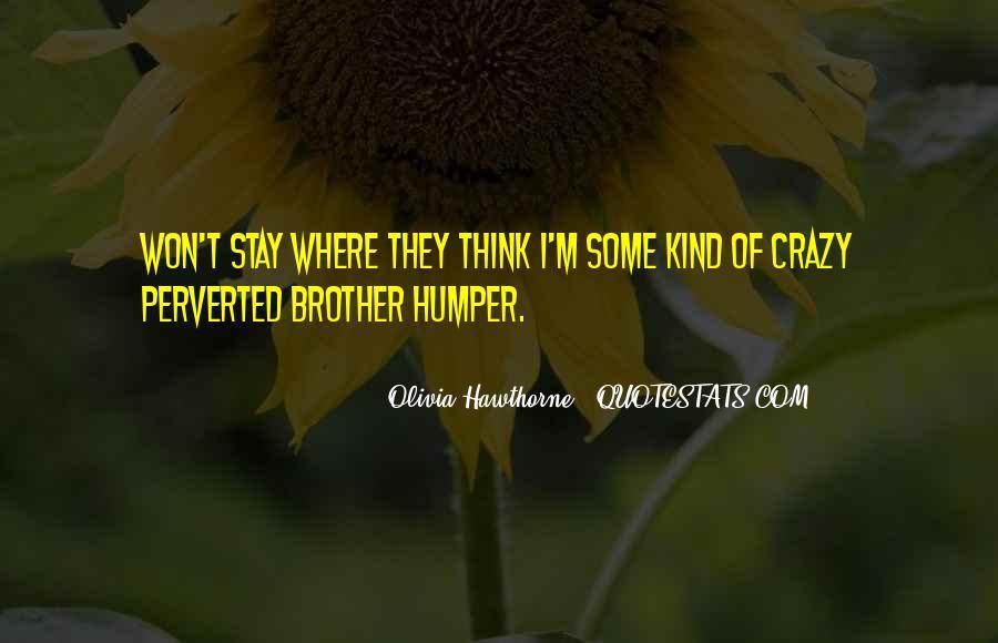 Humper Quotes #410744