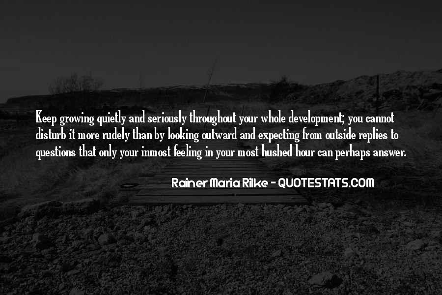 Hushed Quotes #1230425